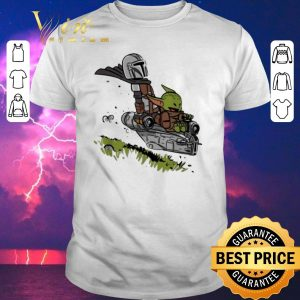 Original The Mandalorian Vault Mando and Child Baby Yoda shirt sweater