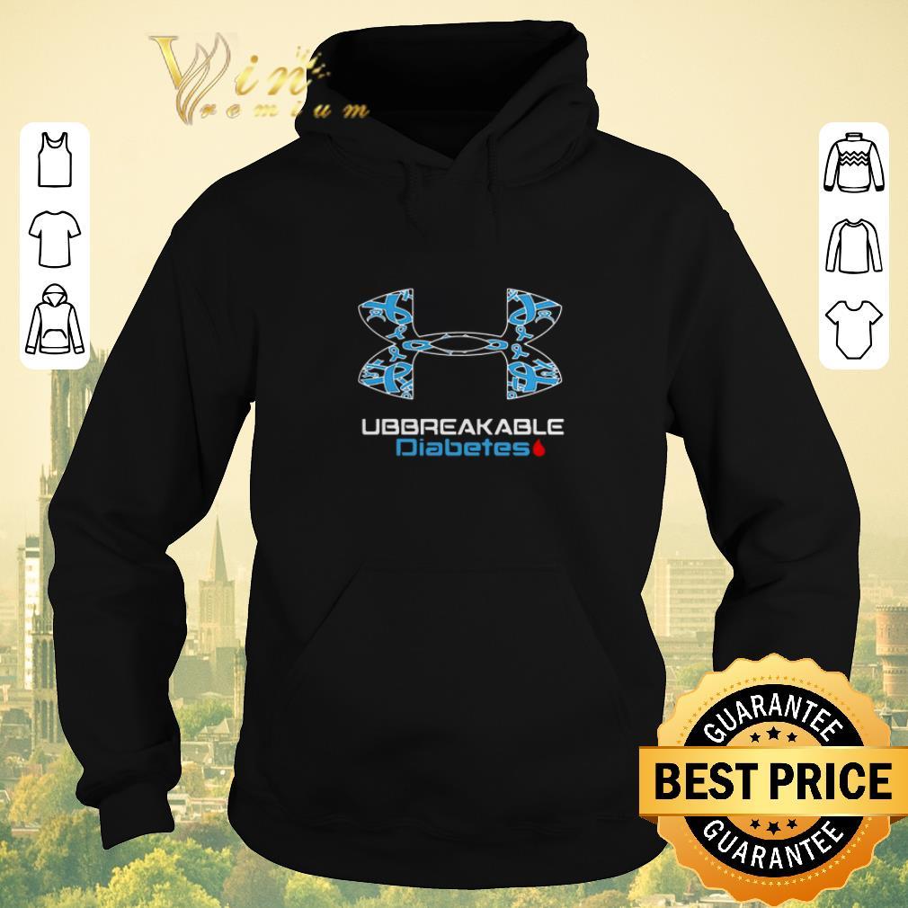 Original Unbreakable Diabetes Under Armour World Cancer Day shirt sweater 4 - Original Unbreakable Diabetes Under Armour World Cancer Day shirt sweater