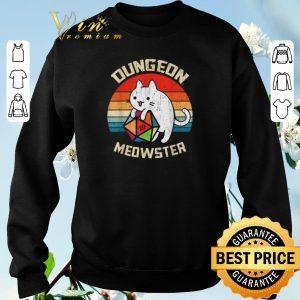 Original Vintage Dungeons & Dragons Meowster Cat D20 shirt 2