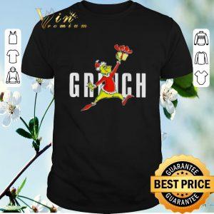 Premium Grinch Santa Slam Dunk Air Jordan Jumpman shirt sweater