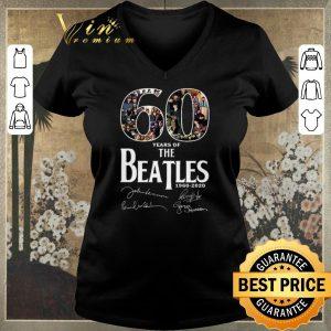 Premium Signatures 60 Years Of The Beatles 1960 2020 shirt