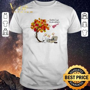 Premium Snoopy Sometimes I need to be alone and listen to The Monkees shirt sweater