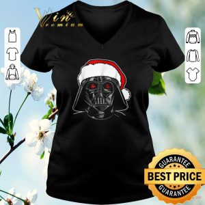 Pretty Darth Vader Santa Star Wars Christmas shirt sweater