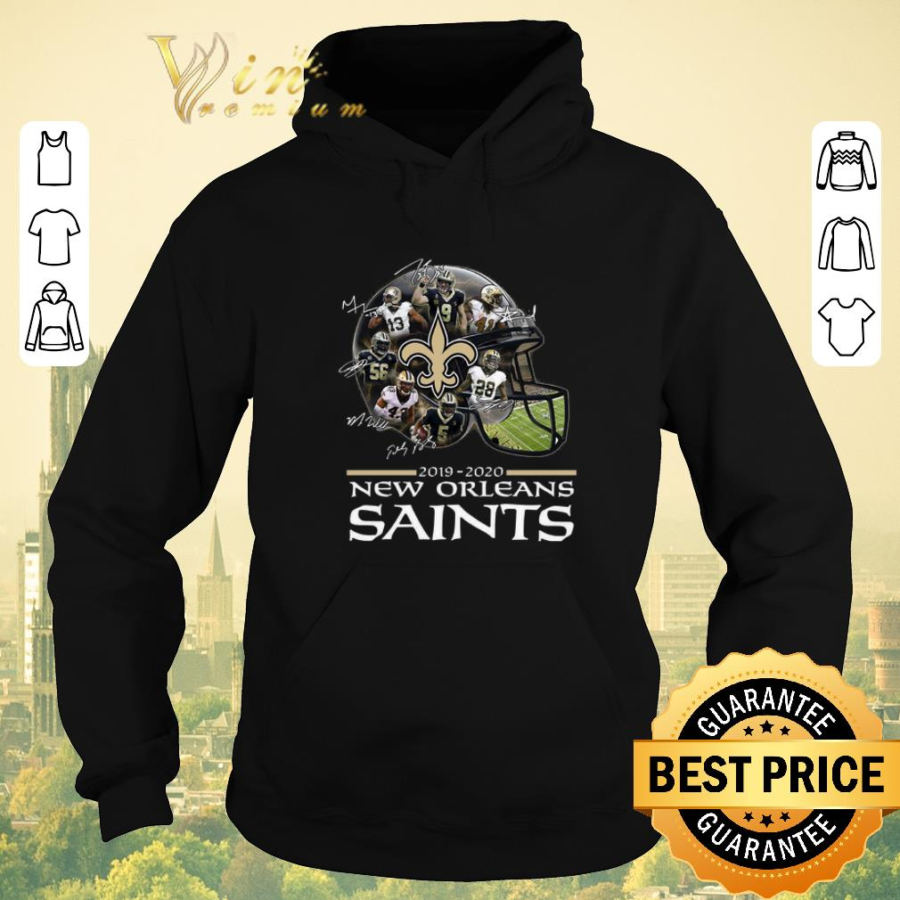 Pretty Signature New Orleans Saints 2019 2020 players all shirt 4 - Pretty Signature New Orleans Saints 2019 2020 players all shirt