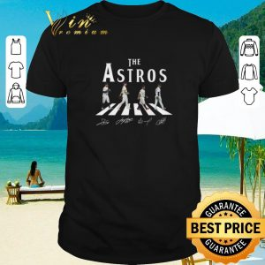Pretty The Astros Houston Astros Abbey Road signatures shirt 2020