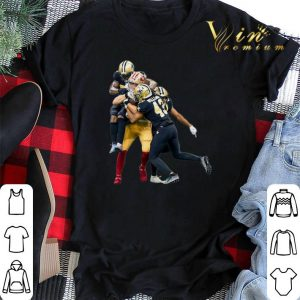 San Francisco 49ers vs New Orleans Saints Marcus Williams shirt sweater