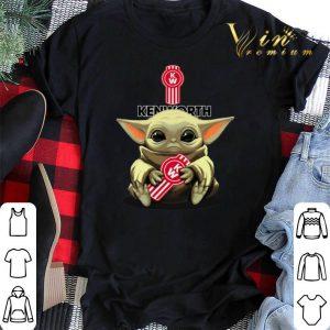 Star Wars Baby Yoda hug Kenworth shirt sweater