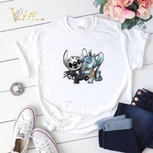 Stitch Mashup Jack Skellington Sally Nightmare Before Christmas shirt sweater