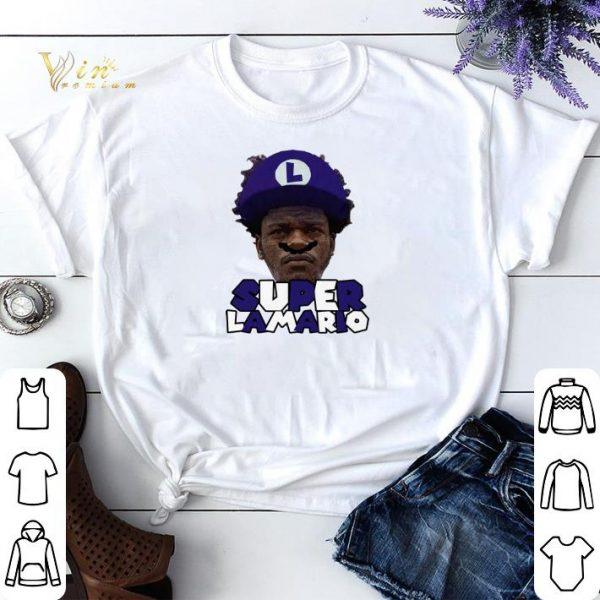 Super Lamario Jackson Baltimore Ravens shirt sweater