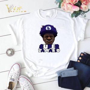 Super Lamario Jackson Baltimore Ravens shirt sweater 1