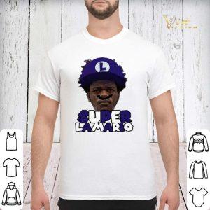 Super Lamario Jackson Baltimore Ravens shirt sweater 2