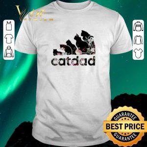 Top Adidas catdad flower shirt sweater