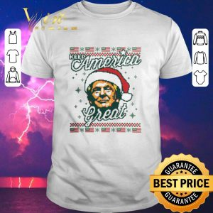 Top ugly Christmas Donald Trump Keep America Great sweater