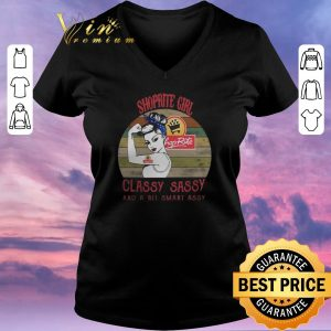 Top vintage Shoprite girl classy sassy and a bit smart assy shirt