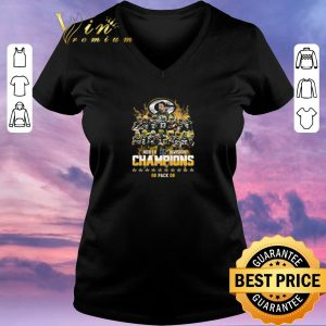 Awesome Green Bay Packers North Division Champions 2019 shirt sweater 1