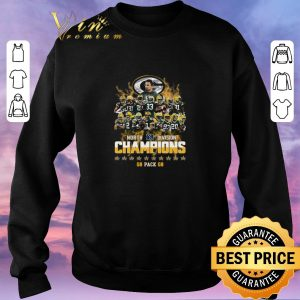 Awesome Green Bay Packers North Division Champions 2019 shirt sweater 2