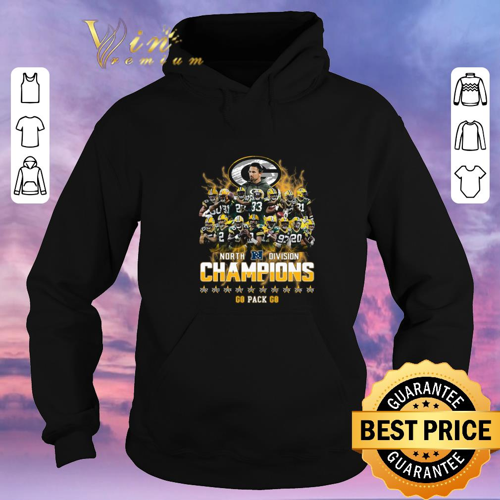 Awesome Green Bay Packers North Division Champions 2019 shirt sweater 4 - Awesome Green Bay Packers North Division Champions 2019 shirt sweater