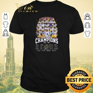 Awesome LSU Tigers National Champions 2020 all signature shirt sweater