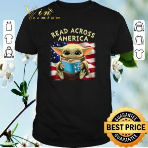 Baby Yoda read across America flag shirt sweater