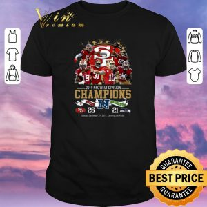 Funny San Francisco 49ers 2019 NFC West Division Champions Seahawks shirt sweater