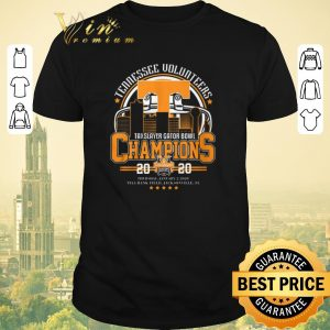Funny Tennessee Volunteers TaxSlayer Gator Bowl Champions 20 20 shirt sweater