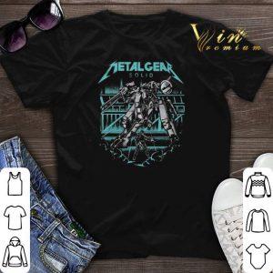 Metal Gear Solid Mashup Metallica logo shirt sweater