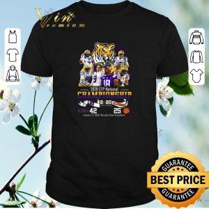 Nice 2020 CFP National Championship LSU Tigers vs Clemson Tigers shirt sweater