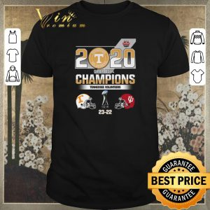 Nice 2020 Gator Bowl Champions Tennessee Volunteers Indiana Hoosiers shirt sweater