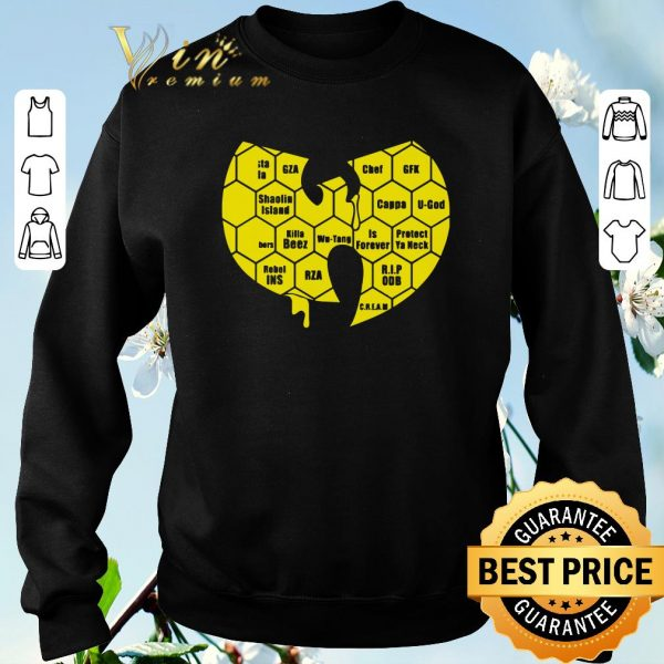 Official Wu-tang Clan Logo Killa Beez Is Forever shirt sweater