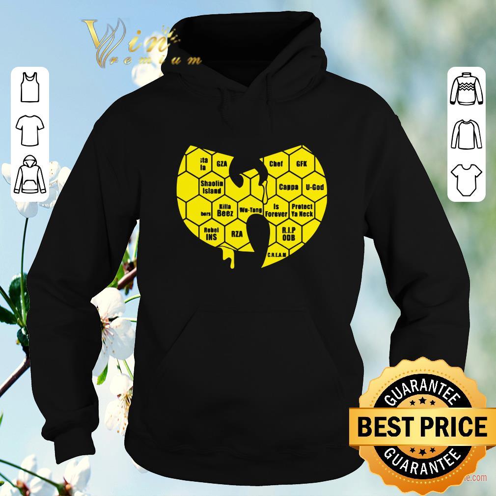 Official Wu tang Clan Logo Killa Beez Is Forever shirt sweater 4 - Official Wu-tang Clan Logo Killa Beez Is Forever shirt sweater