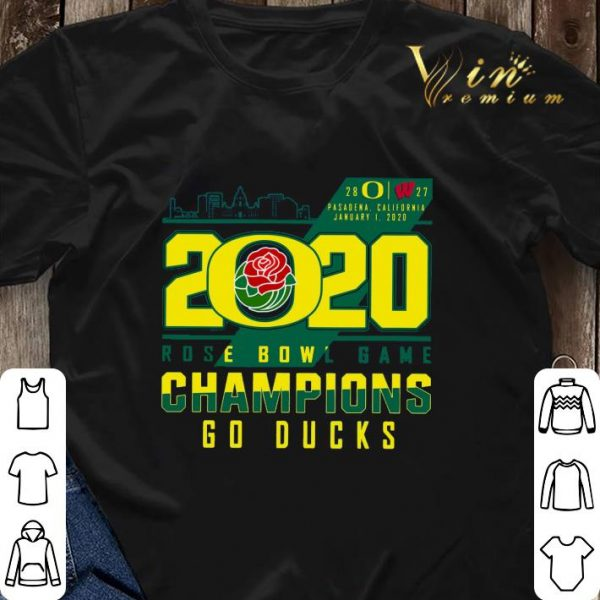 Oregon Ducks 2020 Rose Bowl Game Champions Go Ducks shirt sweater