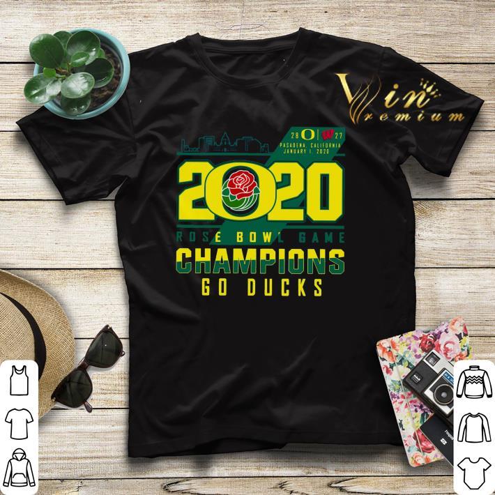 Oregon Ducks 2020 Rose Bowl Game Champions Go Ducks shirt sweater 4 - Oregon Ducks 2020 Rose Bowl Game Champions Go Ducks shirt sweater