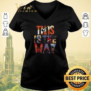 Premium This is the way memories Mandalorian and Baby Yoda shirt sweater