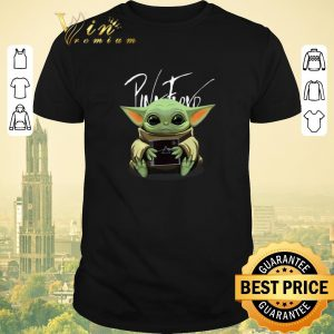 Pretty Baby Yoda hug Pink Floyd Album Star Wars shirt sweater
