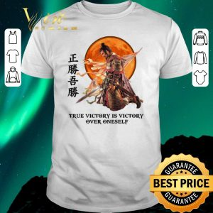 Pretty Samurai true victory is victory over oneself shirt sweater