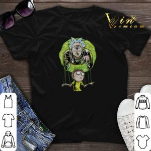 Rick And Morty Puppet And Space Portal shirt sweater