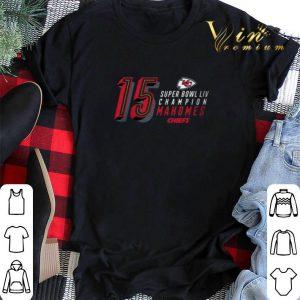 15 Patrick Mahomes Kansas City Chiefs Super Bowl LIV Champions shirt sweater