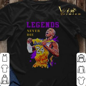 24 Kobe Bryant Lakers legends never die shirt sweater 2