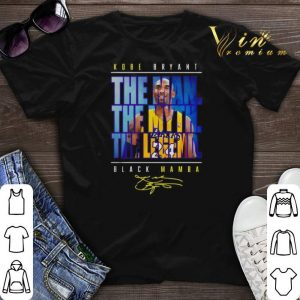 24 Kobe Bryant The Man The Myth The Legend Black Mamba Signature shirt sweater
