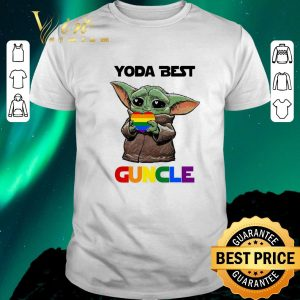 Awesome LGBT Baby Yoda Best Guncle shirt sweater