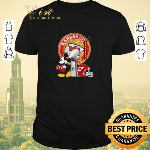 Awesome Mickey Mouse and Kansas City Chiefs Champions Super Bowl shirt sweater
