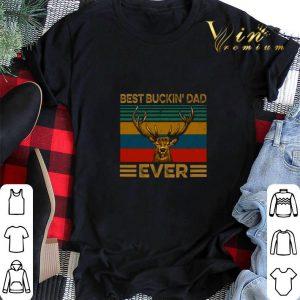Best buckin dad ever vintage shirt sweater