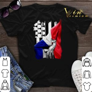 Flag of Brittany and France flag shirt sweater