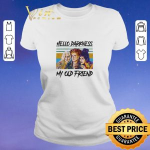 Funny Hocus Pocus hello darkness my old friend vintage shirt sweater