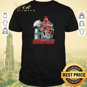 Funny Kansas City Chiefs signature 2020 LIV Championship Super Bowl shirt sweater