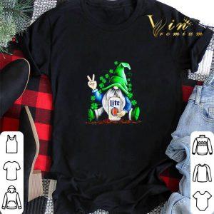 Gnome hug Miller Lite Irish St. Patrick's day shirt sweater