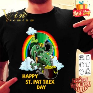 Happy St. Pat Rex Day Dinosaur St. Patrick's Day shirt