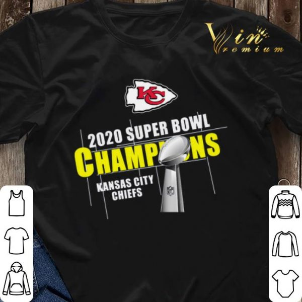 Kansas City Chiefs 2020 Super Bowl Champions Cup shirt sweater