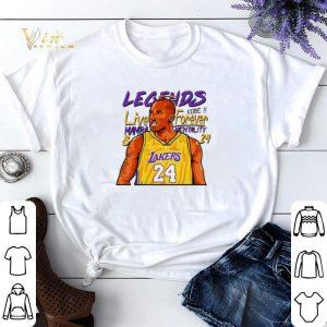 Legend Kobe Live forever Mamba Mentality 24 shirt sweater