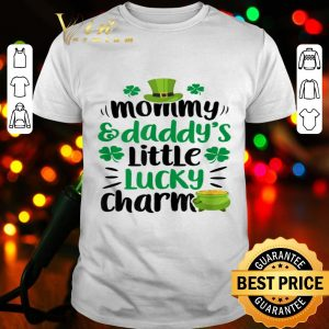 Mommy and Daddy's Little Lucky Charm St Patricks Day Boys shirt